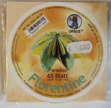 Faltblätter Florentine Paradiso 04; 65 Blatt D: 10 cm 80 g/qm