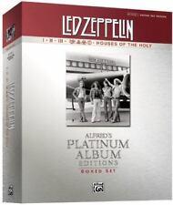 Led Zeppelin Authentic Guitar Tab Edition Boxed Set: Alfred's Platinum Album Edi
