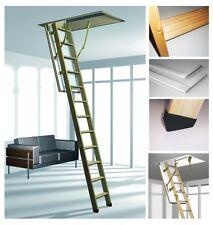 COLUMBUS Treppen Esca 11 Iso-RC 120 x 60 x 220-285 Roto Bodentreppe aus Holz