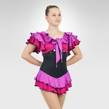 Ice Skating Figure Skating Lilac/Hot Berry spandex size XSmall Adult