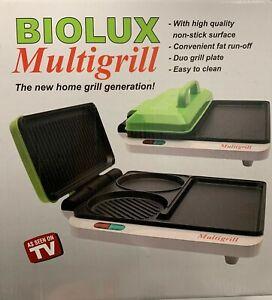 Biolux Multigrill Der geniale 4-Zonen-Tischgrill