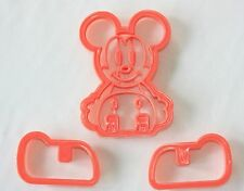 Mickey Shaped Cookie Cutter, 3D Cutters, Sugarcraft, Fondant, Biscuits