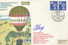 AD16 Crossing of Snowdonia by World's largest hot air balloon RAF signed Cover