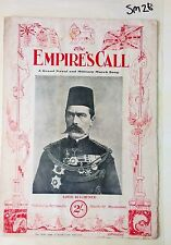The Empire's Call,Naval & Military March Song,Lord Kitchener on Cover,1915,WW1