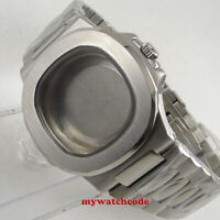 square 40mm stainless steel solid Watch Case fit 2824 2836 automatic mens watch