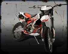Beta Rr450 Enduro 10 02 A4 Photo Print Motorbike Vintage Aged