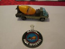 Hot Wheels Heavyweights 1969 -  Redline Copper Cement Truck - White Interior