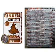 Rindenmulch 57 Sack á 40 L = 2280 Liter Mulch 0-40mm NEU Qualität aus Bayern !