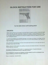 Glock 17 17L 19 20 21 22 23 24 Owners Instruction and Maintenance Manual
