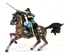 Forces of Valor Union Cavalrymen - painted 1:32 scale toy soldier