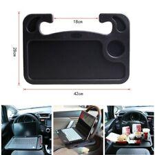 Laptop Steering Wheel Tray Desk Car Food Drink Table Holder Mount Organizer Work