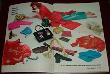 1961 TV ARTICLE~MAGGI BROWN CHRISTMAS GIFT IDEAS~Royal Doulton~Beverly Vogue