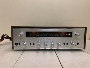 Sansui Model 500 Vintage Stereo Tube Amplifier Receiver  tested