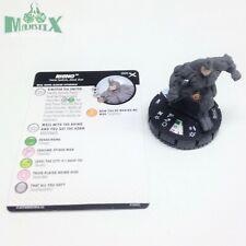 Heroclix Earth X set Rhino #005 Common figure w/card!