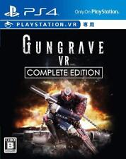 NEW PS4 VR Only GUNGRAVE VR COMPLETE EDITION JAPAN Sony PlayStation 4 Japanese