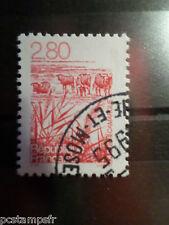 FRANCE 1995, timbre 2952, REGIONS, CAMARGUE, CHEVAUX, oblitéré, cancel STAMP