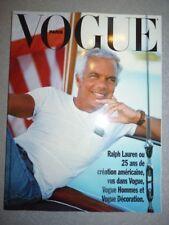 Magazine mode supplément de VOGUE PARIS #729 sur Ralph Lauren