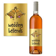 Funny Rude Wine Bottle Label Wedding Gift New Mr & Mrs Bride & Groom