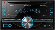 Kenwood DPX306BT Doppel-DIN-Receiver mit iPod-Steuerung und Bluetooth-Freisprech