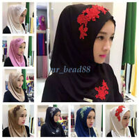 Wholesale Fashion Women Muslim Hijab Cap Islamic Soft Shawl Arab Cover Headwear