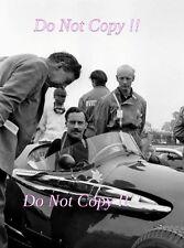Archie Scott-Brown Connaught B Type British Grand Prix 1956 Photograph