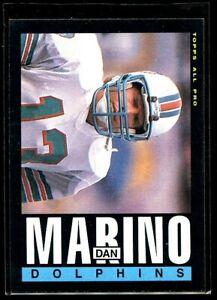 1985 TOPPS #314 DAN MARINO DOLPHINS NM/MT D024847