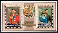 COOK ISLANDS MNH 1982 Royal Birth Minisheet