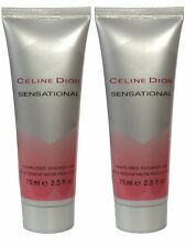 Celine Dion Sensational Perfumed Pearlized Shower Gel 75ml x2 Body Wash Woman