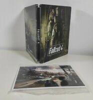 Fallout 4 Steelbook + Postcards No Game Disc New Sealed Collectors Fast Free P&P