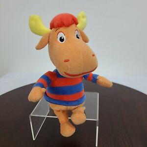 "Ty Beanie Babies Backyardigans Tyrone Moose Plush 8"" Stuffed Animal Toy"