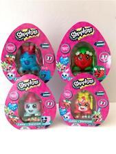 4 SHOPKINS Candy + Dispenser Bubbles Strawberry Kiss Snow Crush Lolli Poppins