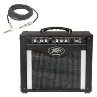 "New Peavey Rage 258 Trans Tube 8"" Combo Amp 25W Guitar Amplifier W/ 1/4"" Cable"