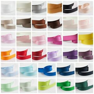 Shindo Double Sided GROSGRAIN Ribbon Hair Bows Crafts