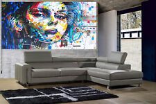 200cm X 100cm Canvas Print - Urban Princess Graffiti Street Art