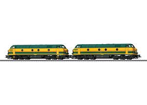 Märklin 37602 Diesellokomotive Serie 55 der SNCB in Doppeltraktion digital Sound