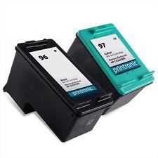 2PK HP 96 97 Ink Cartridge C8767WN C9363WN DeskJet 6540 6620 6830 6840 6940 9800