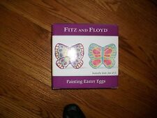 Fitz & Floyd Painting Easter Eggs Butterfly Dish
