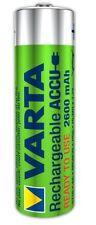 2x Varta 5716 Akku-Batterie Ni-MH Mignon AA New Power 2600 mAh Ready2use