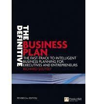 Good, The Definitive Business Plan: The Fast Track to Intelligent Business Plann