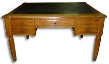 Schreibtisch #82·Louis Philippe·um 1920·Eiche massiv·B140xT79xH75 cm