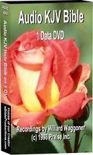 Complete Audio KJV DVD Bible on 1 DVD Video Disk 75 Hrs