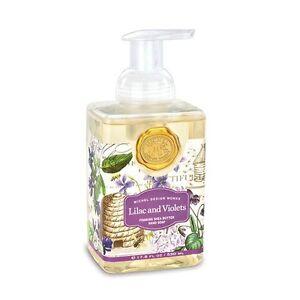 Michel Design Works Foaming Liquid Hand Soap Wild Lilac & Fresh Violets - NEW
