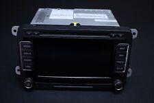 VW RNS 510 Navi Navigationssystem LED Display Radio DAB + Dynaudio 1K8035686A
