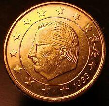 Belgique, 50 Euro Cent, 1999, SUP, Laiton