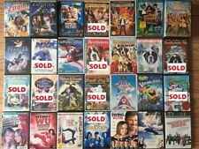 5 DVDs For $20 .. RARE KIDS MOVIES, FAMILY AND DISNEY MOVIES IN ORIGINAL CASES