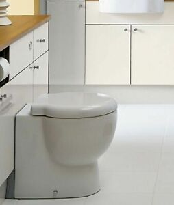 Euro Trio Back to Wall Pan & Soft Close Seat | Bathstore | RRP: £279.99
