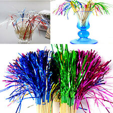 50pcs Cocktail Fireworks Sticks Glitter Drink Fruit Canapes Picks Wedding Party