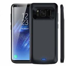 Samsung S8 Plus Battery Case 5500mAh Ultra Slim Bumper Anti Drop Cover Protector
