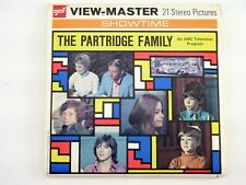 View-Master THE PARTRIDGE FAMILY TV SERIES #B569 - 3 REELS & BOOKLET - MA