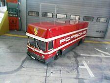 MERCEDES BENZ O317 PORSCHE Renntransporter Werks Team  LKW Le Mans Schuco 1:43